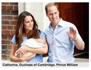 王室の赤ちゃん