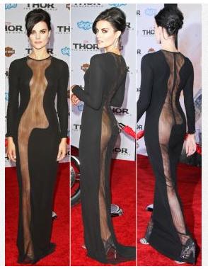 大胆ドレス
