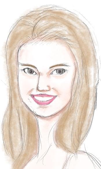 ナタリー・ポートマン女性顔画像