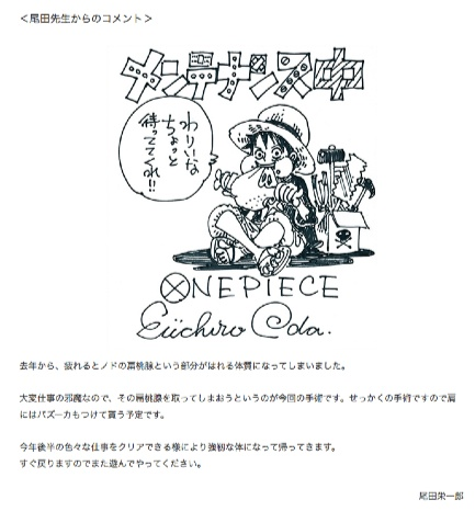 WJ28号、29号におけるONE_PIECE休載のお知らせ|集英社『週刊少年ジャンプ』公式サイト_shonenjump_com